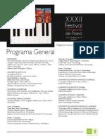 Programacion Piano