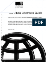 Fidic Contracts Guide 2000