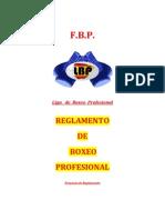 Reglamento Boxeo Profesional 2014