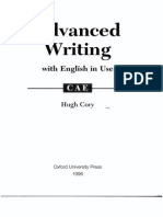 Hugh Cory Advanced Writing and English in Use for CAE
