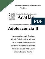 Adolescencia II