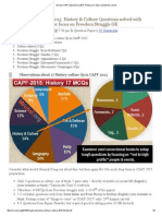 Mrunal CAPF Answerkey 2015_ History & Culture Questions Solved