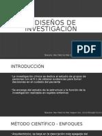 1. Diseños de Investigación