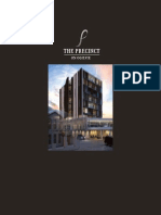 The Precinct Brochure architecture