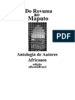 Antologia de Autores Africanos