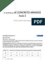 Aula 2 Pilares de Concreto Armado Nbr6118- 2014