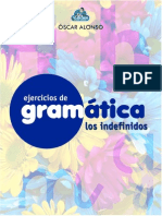 EjerciciosdeGramática - Indefinidos