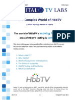 The Complex World of Hbbtv - White Paper