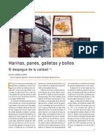 Harinas Panes Galletas y Bollos El Despegue de La Calidad