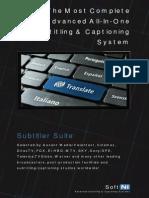 SoftNI Subtitler Suite