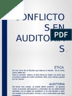 Conflictos de Intereses en Auditorias