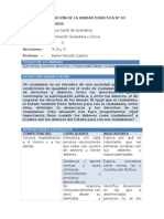 FCC - Planificación Unidad 5 - 1er Grado