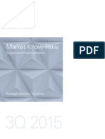 GS Market Know How 3Q15