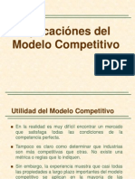 Aplicación Del Modelo Competitivo