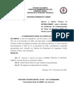 Norma Técnica 7 - Certificado de Credenciamento No CBM AP