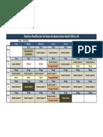 Calendario Curso de Diseño y Planificación de Redes de Banda Ancha Móvil HSPA y 4G