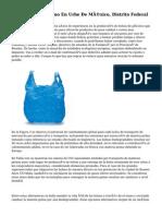 Bolsas De Polietileno En Urbe De México, Distrito Federal
