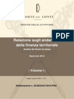 Corte Dei Conti i Comuni i Tributi Ed i Servizi 2014 Delibera_25_2015_sezaut