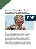 Inicio Lecciones de Mandela Para Colombia Revist Semana