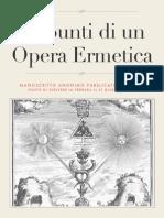 Appunti Di Un Opera Ermetica