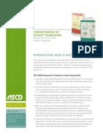 mctighe and wiggins 2012 understanding by design framework