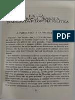 Allan Bloom - Justiça John Rawls Versus a Tradição Da Filososfia Política