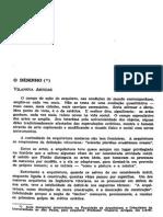 Artigo O DESENHO Vilanova Artigas