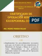 Come Diapositivas Ing Pedro Pandia