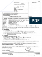 2013 2 19 Filedoc Petitioner Income and Expense