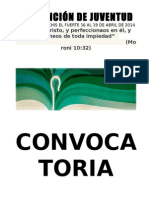 Convención de Juventud 2014