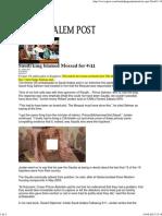 Saudi King Blamed Mossad for 9_11