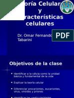 Caracteristicas y Teorias Celulares
