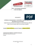 Modelo de Fichamento - Cap XX Do Livro Estudos Da Teoria Da Constituição - A Federação Brasileira e o Município