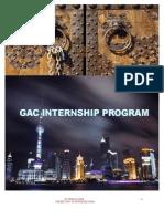 GAC Internship Program Brochure