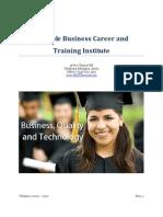 SBCTI Course Catalog 2-23-10