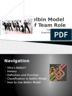 Belbin Model for Team Member Role Understanding