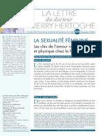 Lettre N°9 Sexualité femme SEPT2013