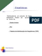 Series Estatisticas