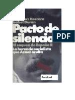 Duran, Isabel Duran Y Diaz Herrera, Jose - Pacto de Silencio