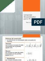 Lenguaje Ensamblador Para PC