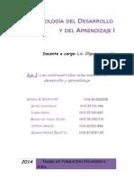 Bonifacio - Psicología Del Desarrollo y Aprendizaje I