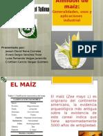 Generalidades Del Almidón de Maíz