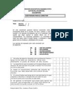Cuestionario Director