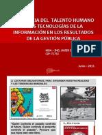 Talento Humano y Tec de La Inform en La Gestion Publica
