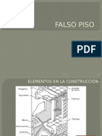 Construcción Falso Piso