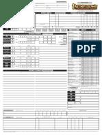[Pathfinder] Scheda Personaggio Editabile