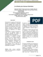 Metodologías de Diseño Para Sistemas Embebidos