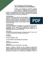 Ley Del Catastro