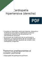 Cardiopatía Hipertensiva (Derecha)