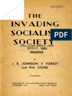 C. L. R. James-Raya Dunayevskaya-Ria Stone - The Invading Socialist Society (First Ed. - 1947)